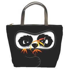 The Hidden Panda Bucket Bag