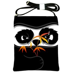 The Hidden Panda Shoulder Sling Bag