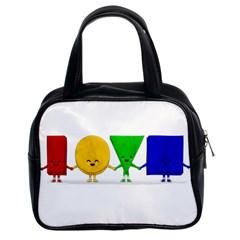 LOVE Classic Handbag (Two Sides)