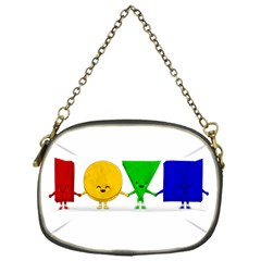 LOVE Chain Purse (One Side)