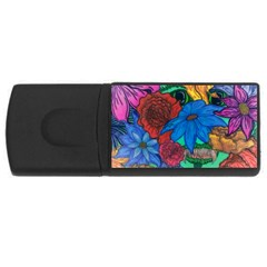 Creepy Beauty 2GB USB Flash Drive (Rectangle)