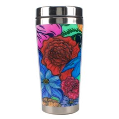 Creepy Beauty Stainless Steel Travel Tumbler