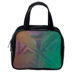 Abstract Classic Handbag (One Side)