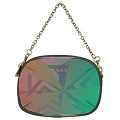 Abstract Chain Purse (Two Side)