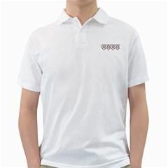 Xoxo Mens  Polo Shirt (White)