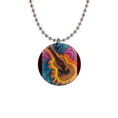Xoxo Button Necklace