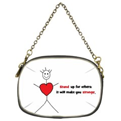 Antibully Lk Chain Purse (two Side)