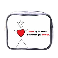 Antibully Lk Mini Travel Toiletry Bag (One Side)