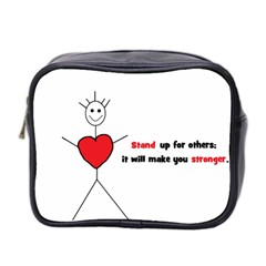 Antibully Lk Mini Travel Toiletry Bag (two Sides)