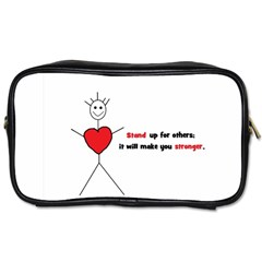 Antibully Lk Travel Toiletry Bag (Two Sides)
