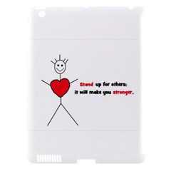 Antibully Lk Apple Ipad 3/4 Hardshell Case (compatible With Smart Cover)
