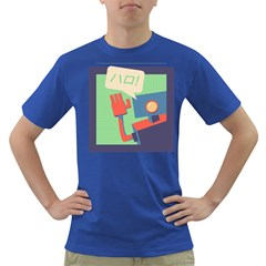 Hello! Mens' T-shirt (Colored)