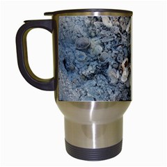 Sea Shells On The Shore Travel Mug (white)
