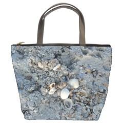 Sea Shells on the Shore Bucket Bag