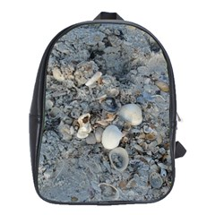 Sea Shells on the Shore School Bag (Large)