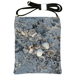 Sea Shells on the Shore Shoulder Sling Bag