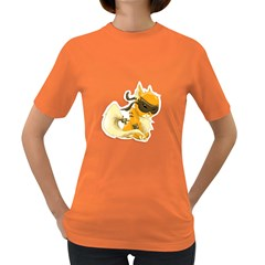 Kitty Womens' T-shirt (Colored)