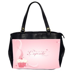 Cupcakesforall Oversize Office Handbag (two Sides)