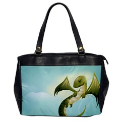 Flying High Oversize Office Handbag (One Side)