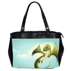 Flying High Oversize Office Handbag (Two Sides)