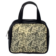 Bones & Arrows Classic Handbag (One Side)