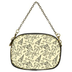 Bones & Arrows Chain Purse (two Side)