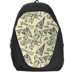 Bones & Arrows Backpack Bag