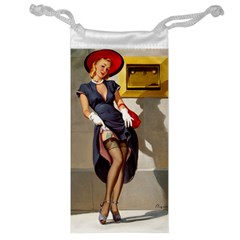 Retro Pin-up Girl Jewelry Bag