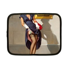 Retro Pin-up Girl Netbook Case (Small)