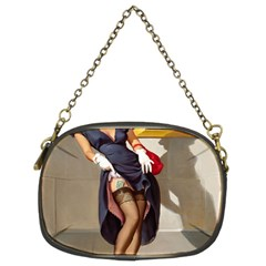 Retro Pin-up Girl Chain Purse (Two Side)