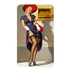 Retro Pin Up Girl Memory Card Reader (rectangular)
