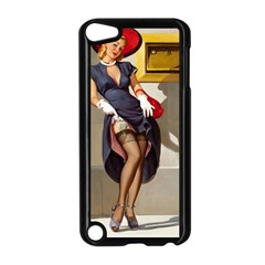 Retro Pin-up Girl Apple iPod Touch 5 Case (Black)