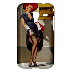 Retro Pin-up Girl Samsung Galaxy Ace Plus S7500 Case