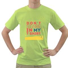 Summer T Shirt Mens  T Shirt (green)
