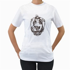 Nobody Can See Your Future Womens  T Shirt (white)