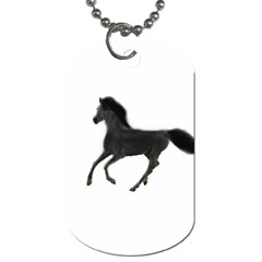 Running Horse Dog Tag (two Sided)