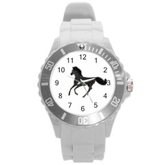 Running Horse Plastic Sport Watch (Large)