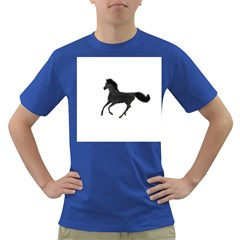 Running Horse Mens' T Shirt (colored)