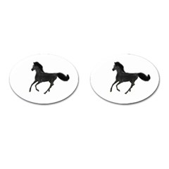 Running Horse Cufflinks (Oval)