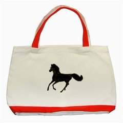 Running Horse Classic Tote Bag (red)