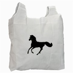 Running Horse Recycle Bag (One Side)