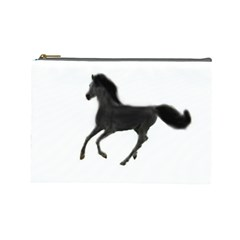 Running Horse Cosmetic Bag (Large)