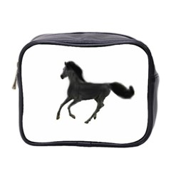 Running Horse Mini Travel Toiletry Bag (Two Sides)