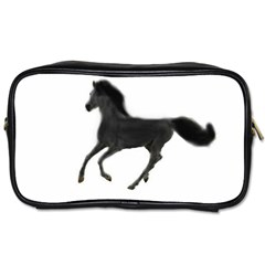 Running Horse Travel Toiletry Bag (one Side)