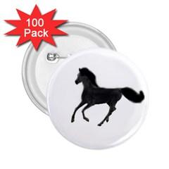 Running Horse 2.25  Button (100 pack)