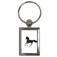 Running Horse Key Chain (Rectangle)