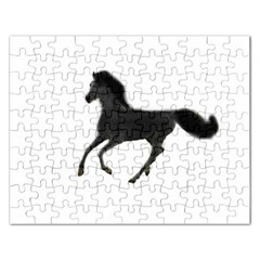 Running Horse Jigsaw Puzzle (Rectangle)