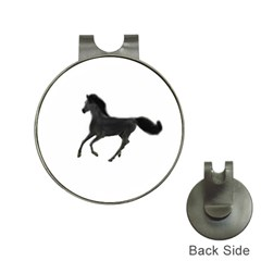 Running Horse Hat Clip With Golf Ball Marker