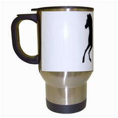 Running Horse Travel Mug (white)