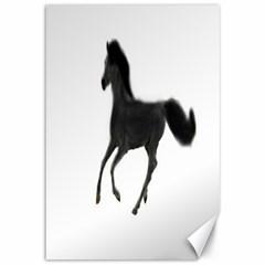 Running Horse Canvas 12  x 18  (Unframed)